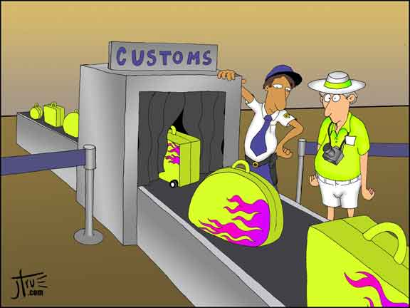 Customs - James True